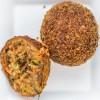 Stoere vegetarische indische bal
