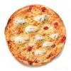 Pizza Quattro Formaggi groot